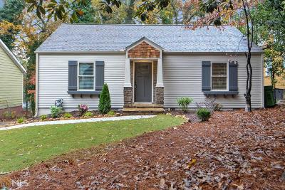 Atlanta Single Family Home New: 1348 SW Westmont Road