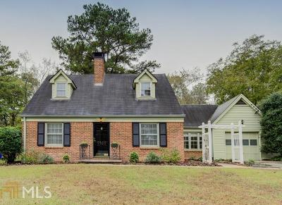 Decatur Single Family Home Under Contract: 2955 Delcourt Drive