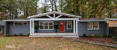 Atlanta Single Family Home New: 615 Ferris
