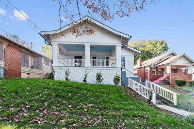 Atlanta Single Family Home New: 1546 Westwood