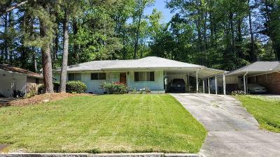 Atlanta Single Family Home New: 2586 Bonnybrook