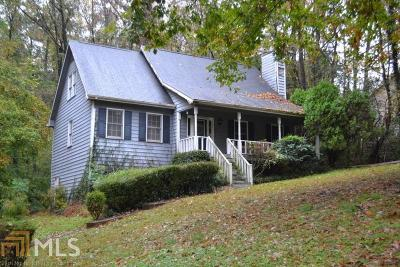 Douglasville Single Family Home Under Contract: 3135 Stone Oak Dr