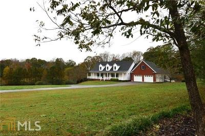Cherokee County Single Family Home Under Contract: 7355 Union Hill Rd