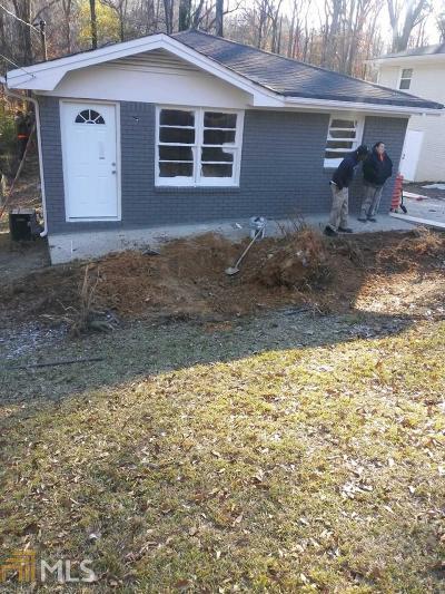 Atlanta Single Family Home New: 2430 Main St