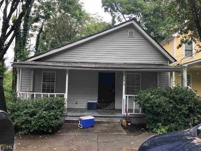 Atlanta Single Family Home New: 1015 Ira