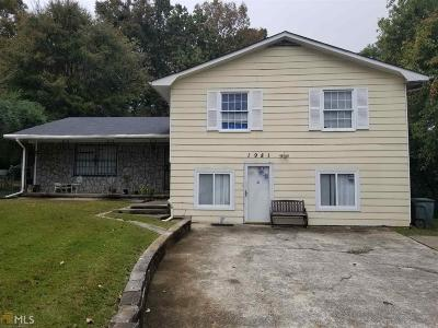 Clayton County Single Family Home New: 1981 Highway 138