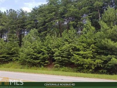 Snellville Residential Lots & Land New: Centerville Rosebud Rd