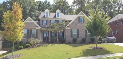 Acworth Single Family Home Under Contract: 5501 Heatherbrooke Ln