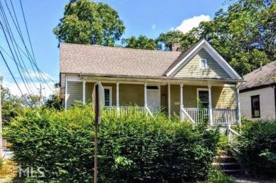 Atlanta Single Family Home New: 878 Tift