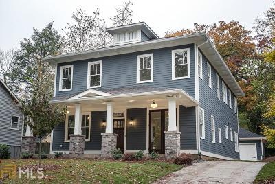 Atlanta Single Family Home New: 100 Daniel Avenue SE