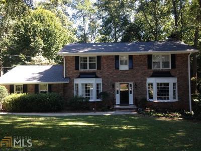 Atlanta Single Family Home New: 4061 Ashentree Drive