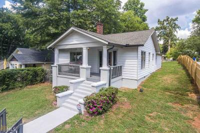 Grant Park Single Family Home For Sale: 320 Kendrick Ave