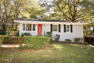 Atlanta Single Family Home New: 2834 Meadowview Drive