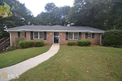 Dekalb County Multi Family Home Under Contract: 2820 Whispering Hills Dr