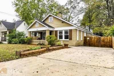 Atlanta Single Family Home New: 173 Campbell Street SE