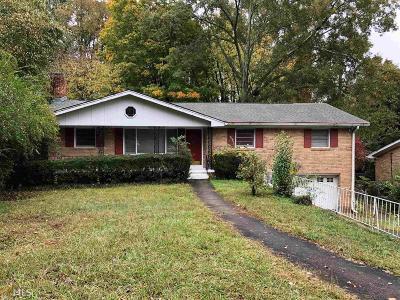 Stone Mountain Single Family Home New: 813 Monmouth Dr