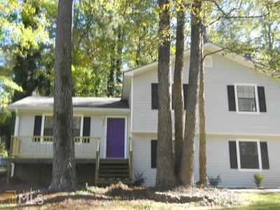 Conyers Single Family Home New: 3944 Woodland Cir
