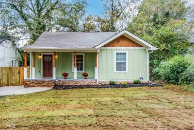 Atlanta Single Family Home New: 1115 Selwin Avenue SW