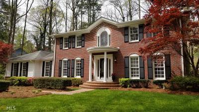 Atlanta Single Family Home New: 1358 W Wesley Rd