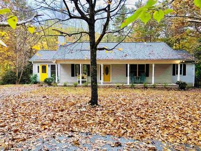 Dahlonega Single Family Home Under Contract: 304 Holly