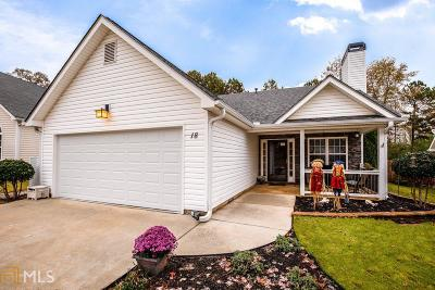 Newnan Single Family Home Under Contract: 18 Green Spring