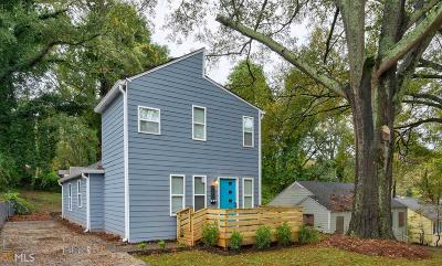 Atlanta Single Family Home New: 521 Pelton Pl