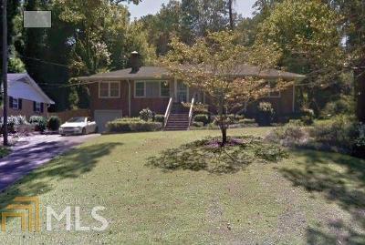 Atlanta Single Family Home Under Contract: 2134 Beecher Cir