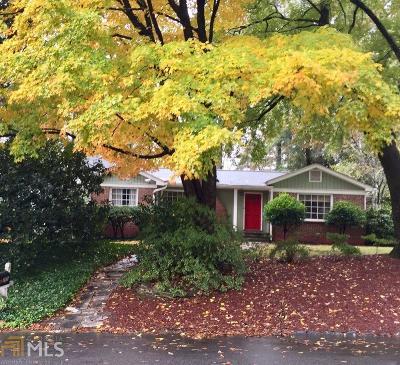 Atlanta Single Family Home New: 735 Burke Road NE