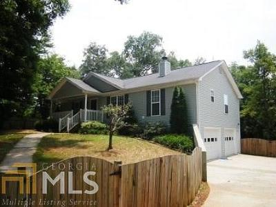 Dawsonville Single Family Home For Sale: 1410 Burnt Stand
