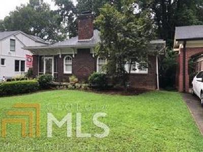 Atlanta Single Family Home New: 1072 Cumberland Road