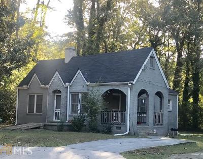 Atlanta Single Family Home New: 1298 Bolton Road NW