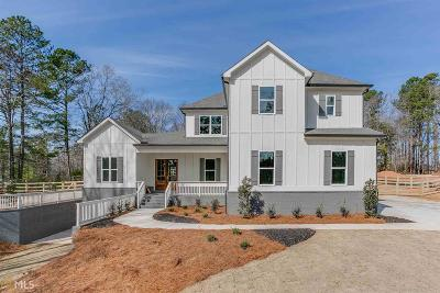 Suwanee Single Family Home For Sale: 5138 Price Dr