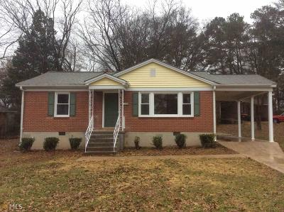 Single Family Home New: 1545 Cloverdale