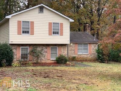 Lilburn Single Family Home Under Contract: 1251 Martin Nash