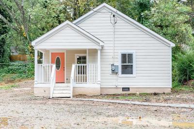 Atlanta Single Family Home New: 376 Saint Johns Avenue SW