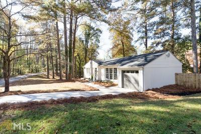 Atlanta Single Family Home New: 2977 NW Eleanor Ter #1