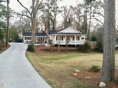 Newnan Single Family Home New: 2 Parks Ave