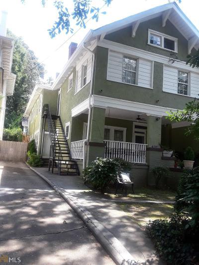 Atlanta Multi Family Home For Sale: 887 NE Myrtle St