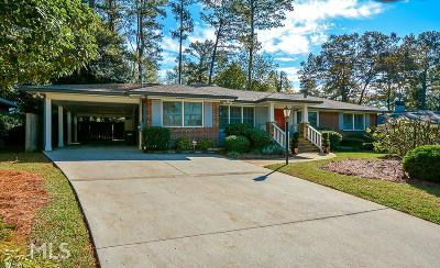 Decatur Single Family Home Under Contract: 1278 Amanda Cir