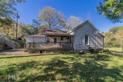 Conyers Single Family Home Under Contract: 1634 Church St