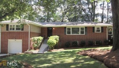 Chamblee Single Family Home For Sale: 3659 Admiral Dr