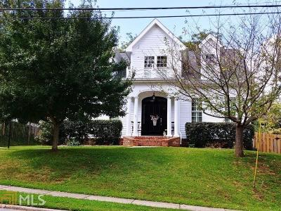 Newnan Single Family Home Under Contract: 53 1st Ave