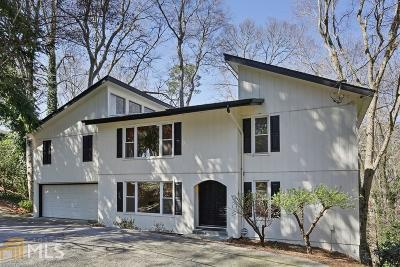 Atlanta Single Family Home For Sale: 2710 Margaret Mitchell Dr