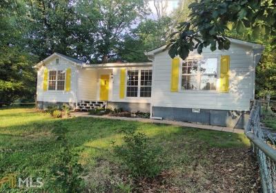 Douglasville Single Family Home Under Contract: 6236 Ellis St