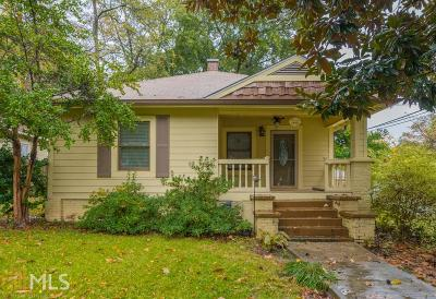 Hapeville Single Family Home For Sale: 3440 Rainey Ave