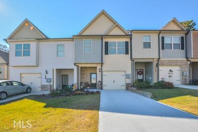 Winder Condo/Townhouse For Sale: 309 Turtle Creek Dr