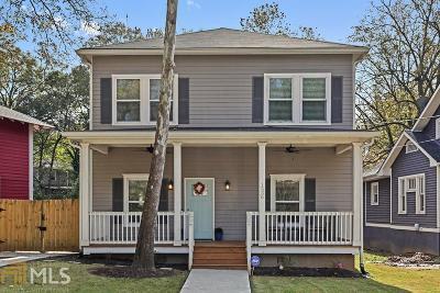 Atlanta Single Family Home New: 1536 S Gordon St