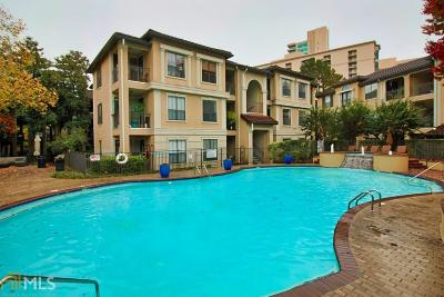 Brookhaven Condo/Townhouse For Sale: 3777 Peachtree Rd #1031