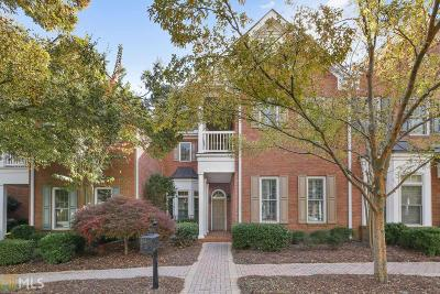 Roswell Condo/Townhouse For Sale: 8640 Parker Pl