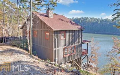 Toccoa Single Family Home For Sale: 455 Yonah Lake Rd #99